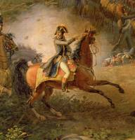 The Battle of Marengo, detail of Napoleon Bonapart