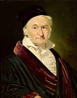 Portrait of Carl Friedrich Gauss, 1840