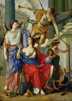 Allegory of the Regency of Anne of Austria
