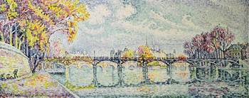 The Pont des Arts, 1928