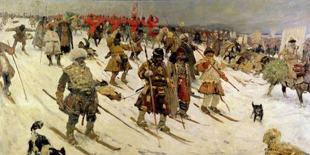 A military campaign in Russia during the 16th cent