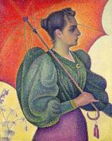 Woman with a Parasol, 1893