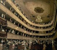 The Auditorium of the Old Castle Theatre, 1888