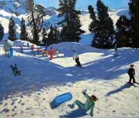 Blue Sledge, Belle Plagne