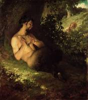 Faun and Nymph, 1868