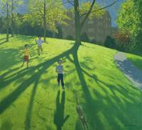 Children Running in the Park, Derby, 2002