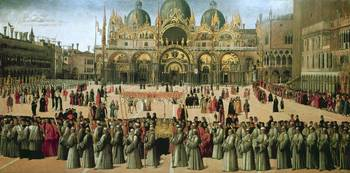 Procession in St. Mark's Square, 1496