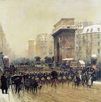 The Passing Regiment, 1875
