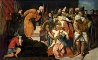 Esther before Ahasuerus, 1548