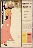 Publicity poster for 'The Yellow Book', pub. 189