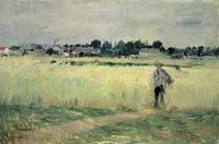 In the Wheatfield at Gennevilliers, 1875
