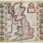 """Britain As It Was Devided In The Tyme of the Engli"" by fineartmasters"