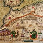 """Detail of Copy of a Catalan Map of Europe and Nort"" by fineartmasters"