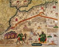 Detail of Copy of a Catalan Map of Europe and Nort
