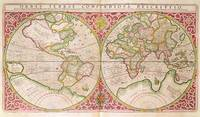 Double Hemisphere World Map, 1587
