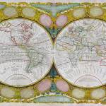 """A New and Correct Map of the World, 1770-97"" by fineartmasters"