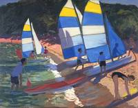 Sailboats, South of France, 1995
