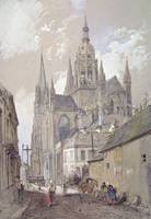 Bayeux Cathedral, View from the South East