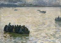 Shipyard Workers Returning Home on the Elbe, 1894