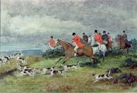 Fox Hunting in Surrey, 19th century