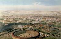 Aerial View of Madrid from the Plaza de Toros, 185
