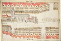Map of Cheapside, London, 1585