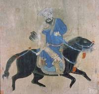 Mongol archer on horseback, from seals of the Empe