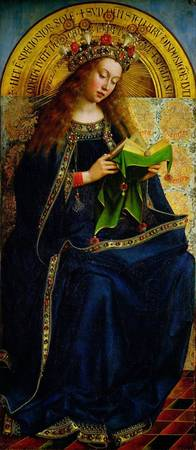 The Ghent Altarpiece, The Virgin Mary, 1432