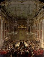 Banquet in the Redoutensaal, Vienna, 1760