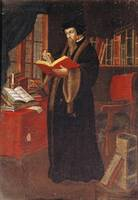 Portrait of John Calvin