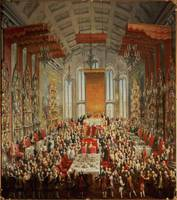 Coronation Banquet of Joseph II in Frankfurt, 1764