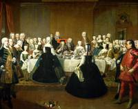 Wedding Breakfast of Empress Maria Theresa of Aust