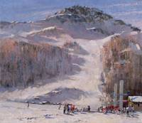 Val d'Isere, Morning Light - First Lessons