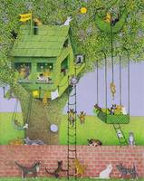 Cat Tree House,