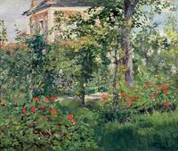 The Garden at Bellevue, 1880