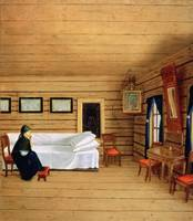Interior with a seated woman