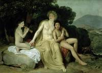 Apollo with Hyacinthus and Cyparissus Singing and