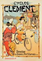 Poster advertising 'Cycles Clement', Pre Saint-G