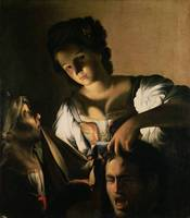 Judith with the head of Holofernes, 1615