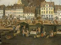 The New Market in Berlin with the Marienkirche c.1