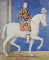 Equestrian Portrait Presumed to be Dauphin Henri I