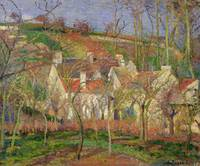 The Red Roofs, or Corner of a Village, Winter, 187