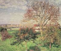 Autumn morning at Eragny, 1897