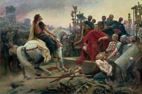 Vercingetorix throws down his arms at the feet of