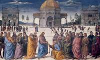 Giving of the Keys to St. Peter, from the Sistine