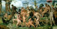 The Triumphal Procession of Bacchus, c.1536-37