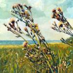 """""""Thistles on the Beach"""" by Michelle1991"""