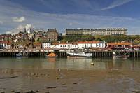 Whitby Lower Harbour and the West Cliff (36155-RDA