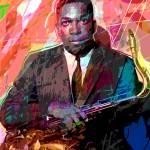 """John Coltrane"" by DavidLloydGlover"