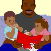 Daddy's Bundles Art Prints & Posters by Pamela Harris